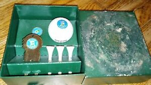 OLD COURSE St. ANDREWS, Scotland Divot Repair Set - w/ Box, Tees, Ball Marker