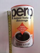 Vintage PERO Instant Natural Beverage Original Recipe 04.90 1.75 oz