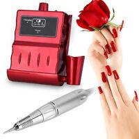 Electric Nail Drill Manicure Pedicure File Acrylic Kit Set Bits Gel Polish JS