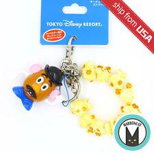 Japan Tokyo Disney Resort Exclusive Mr. Potato Mini Popcorn Bucket Keychain