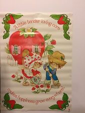 Strawberry Shortcake (Loving Care) Poster # 13-483 1980 American Greetings Corp.