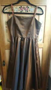 Vintage HOLSTENS ladies silky party dress (size 12)