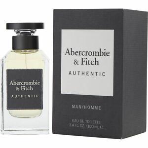 Abercrombie And Fitch Authentic Man 100ML Eau de Toilette New Blister Pack