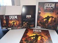 NEW UNUSED Official Doom Eternal Promo Display Cube Box, Marketing MaterialRARE