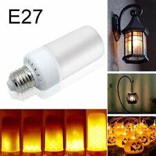 E27 LED Flicker Flame Fire Effect Light Bulb Warm White Emulation Decor Lamp