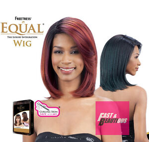 KALANI - Freetress Equal Synthetic Full Wig MEDIUM STRAIGHT BOB WITH PART