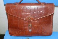 Mulberry Rich Tan Congo Leather Ethan Satchel/Laptop/iPad Bag VGC