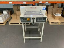 """Mbm Triumph 3915-95 15"""" Electric Paper Cutter - Fully-Serviced & Tested"""