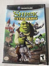 Shrek: Extra Large (Nintendo GameCube Gcn, 2002) Complete Cib W/ Reg. Card!