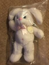 """Precious Moments 15"""" Plush Bunny New in Package Rare Tender Tails #1758"""