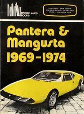 PANTERA & MANGUSTA 1969-1974, CLARKE, NEW BROOKLANDS 1980 CAR BOOK / Offer?
