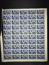 AMG In buonissima condizione TRIESTE VENEZIA GIULIA ITALIA 10 lire espresso foglio intero francobolli del 50