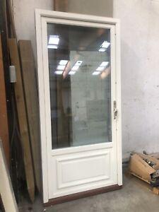 Wooden Triple Glazed Door