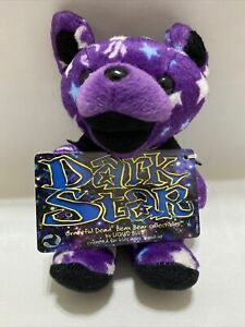 Liquid Blue Dark Star The Grateful Dead Beanie Bear Plush