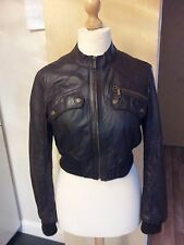River Island Leather Casual Crop Coats & Jackets for Women