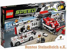 LEGO® Speed Champions: 75876 Porsche 919 Hybrid und 917K Pit Lane & 0.-Versand !