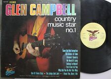 Country Lp Glen Campbell Country Music Star No. 1 On Starday