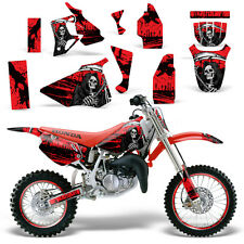 Graphic Kit Honda CR 80 MX Dirt Pit Bike Decals Sticker Wrap CR80 96-02 REAP RED