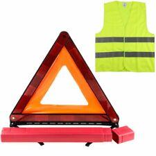 Kit de signalisation Triangle + gilet Homologués Norme CE, kit auto sécurité