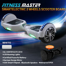 Smart Self Balancing Hoverboard Electric 2 Wheel Scooter Hover Board White