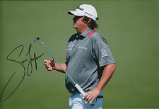 Jason DUFNER SIGNED 12x8 Photo AFTAL Autograph COA Masters Augusta National Golf