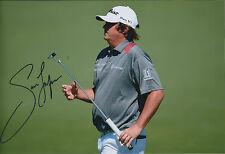 Jason DUFNER SIGNED 12x8 Photo AFTAL Autograph COA Masters Augusta National Golf