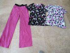 Lot, 3 womens size Xs Scrubstar scrubs, pants, tops