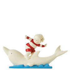 Snowbabies - Beach Babies Let`s Go Surfin Figurine NEW  28028