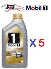 5 LITRI 5LT OLIO MOTORE MOBIL 1 FS 0W-40 ACEA A3/B3, A3/B4 API SN/SM