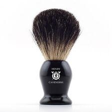 Henry Cavendish Gentleman's 100 Pure Badger Hair Shaving Brush. Enhance Your a