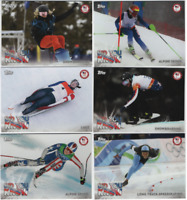 2018 Topps US Winter Olympics  - Did You Know? Insert Cards - Choose From List