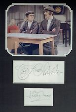 Peter Cook & Dudley Moore 16x12 Mounted Pete and Dud Presentation AFTAL/UACC RD