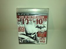 Batman Arkham City PS3 - Game of the Year Black Label Edition PlayStation 3 NEW