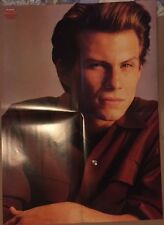CHRISTIAN SLATER Original Vintage TV Hits Magazine Poster