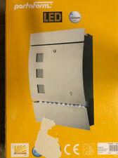 Portaferm LED-Briefkasten mit Bewegungsmelder Und Dämmerungsmodul UVP:96,50€