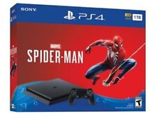SpiderMan PS4 Slim - Limited Edition 1TB Console Bundle - New Still in the Box