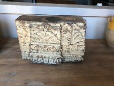 ANTIQUE Reclaimed CARVED WOODEN BEAM CANDLEHOLDER,pre-1890,SPECTACULAR!