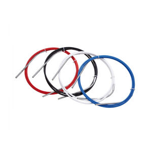 SRAM Slickwire Road And MTB Shift Cable Kit White 4 MM With Ferrules, End Caps