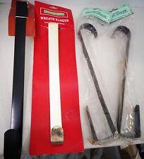 Hangers for Wreaths (Over the Door) (new in packages) LOT of 4 Metal