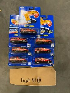 (7) Hot Wheels Chevy Lumina Van - BW's - Blue Card Collector #126