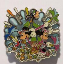 Disney Tdr Hong Kong Japan Summer Splash 2009 Goofy Mickey Minnie Chip Dale Pin