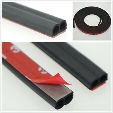 B Type Rubber Seal Strip Car Door Edge Trim Strip Waterproof Dustproof 5 Meters