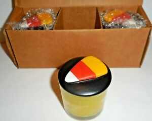 ~3~ GOLD CANYON CANDLE 1.5 OZ ~ CANDY CORN ~ SMALL VOTIVES SET ~FREE SHIPPING~