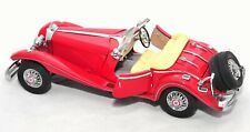 Franklin Mint 1935 Mercedes 500K Special Roadster 1:24 DieCast Model Collectible