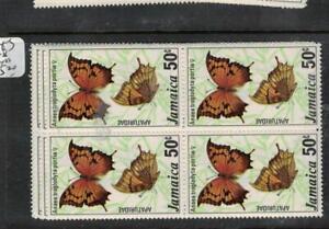 Jamaica Butterfly SC 435-8 Block of 4 MNH (2ejh)