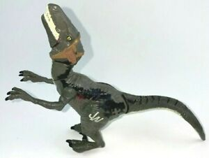 Jurassic World Bashers & Biters Velociraptor Blue Figure HASBRO
