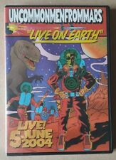 Uncommonmenfrommars - Live On Earth DVD x2 all zones - 2004 - SEALED french punk