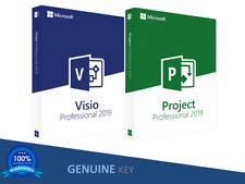Visio 2019 Professional + Project 2019 Professional  Product key Online ✅