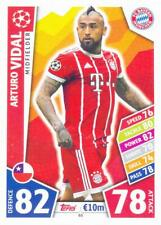 Champions League 17/18 - 65 - Arturo Vidal - FC Bayern München