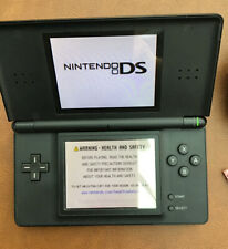 RETRO NINTENDO DS LITE BLACK CONSOLE WITH CHARGER FULLY WORKING